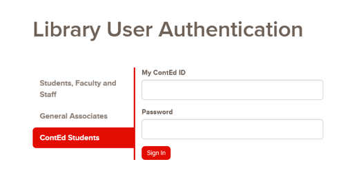 Library Login